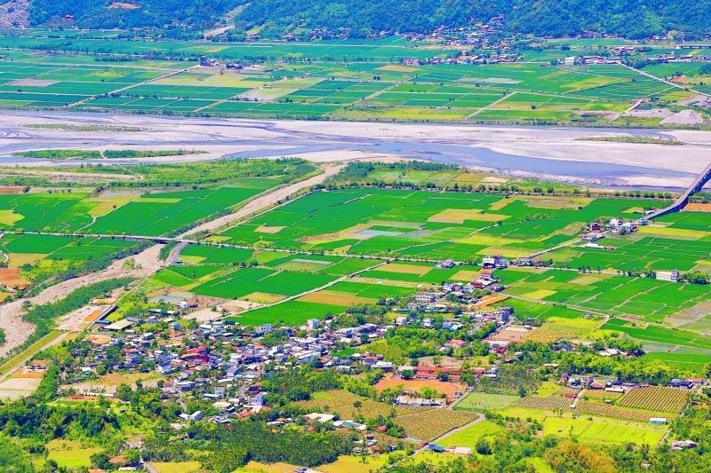 2花東縱谷田園景觀之美
