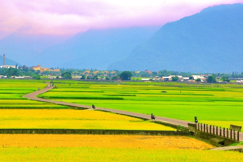 7花東縱谷田園景觀之美