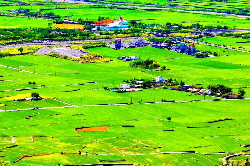 9花東縱谷田園景觀之美