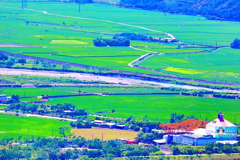 15花東縱谷田園景觀之美