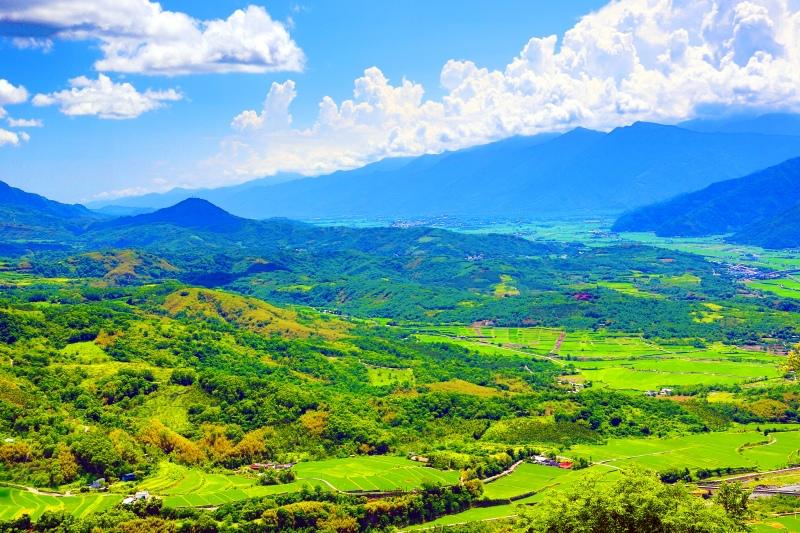 11花東縱谷田園景觀之美