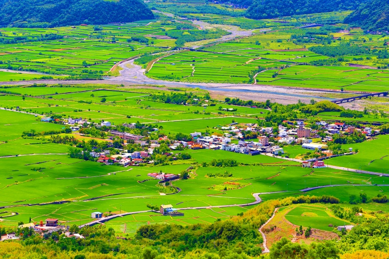 17花東縱谷田園景觀之美