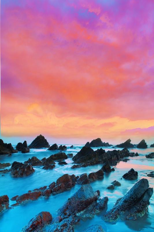 8宜蘭外澳海岸之美