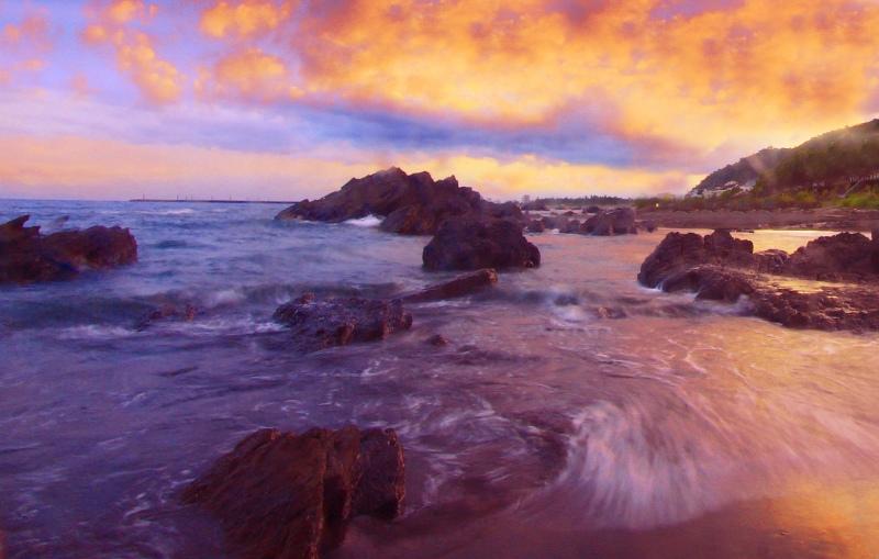 10宜蘭外澳海岸之美