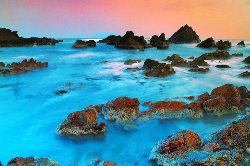 14宜蘭外澳海岸之美