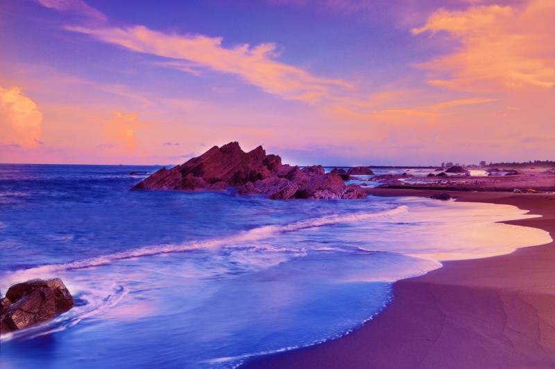 12宜蘭外澳海岸之美
