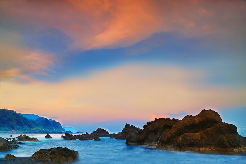 13宜蘭外澳海岸之美