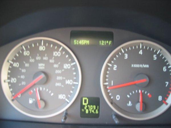 121degree F (49.44 degree C)