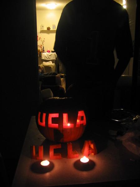 UCLA pumpkin