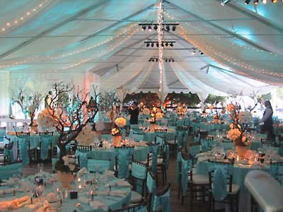 Other dining site: under the tent