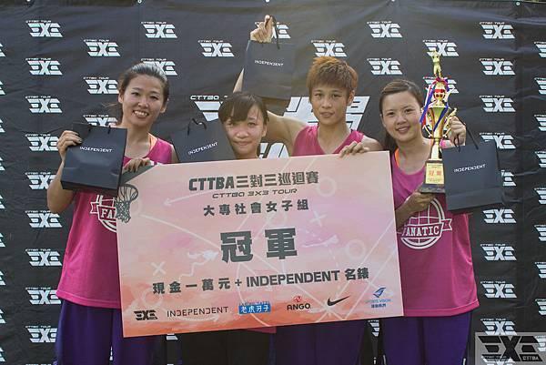 yoyoyo隊在「CTTBA三對三巡迴賽」夏季站稱霸