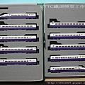 KATO E2系1000番台  東北新幹線 「はやて」 全線復旧1番列車 (10両セット) -- 疾風