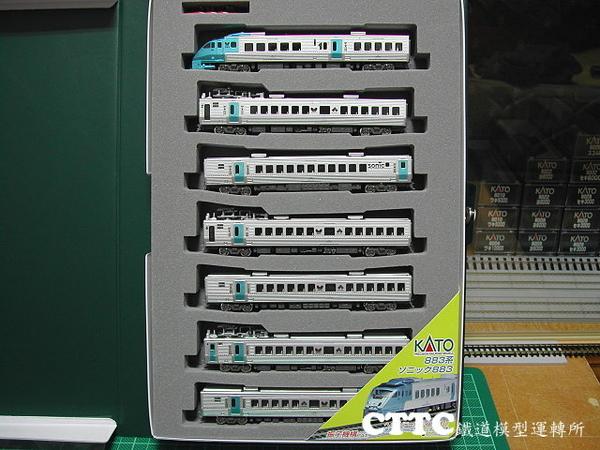 KATO JR九州 883系 音速號 .JPG