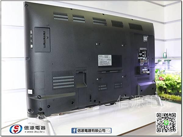 TH-43D410W 背板
