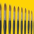 水彩技法全書-畫筆1