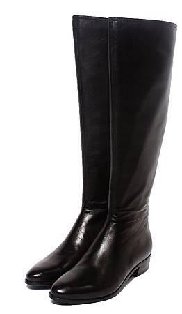 Atelier Mercadal 及膝長靴 經典黑