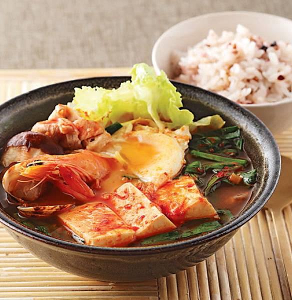 韓式泡菜鍋-成品