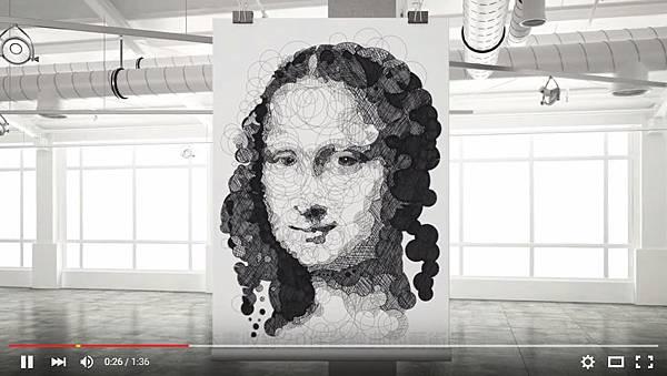 《著色圈圈畫:藝術之最》5個數字畫出令人驚嘆大師傑作_001