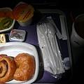 AA美國航空America Airline往紐約的早餐