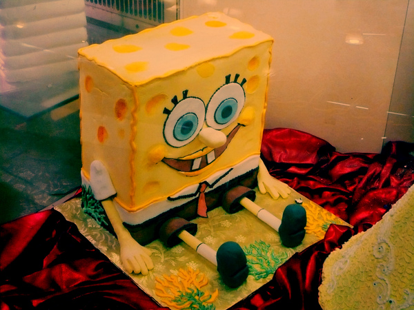 SpongeBob Cake@Chelsea Market