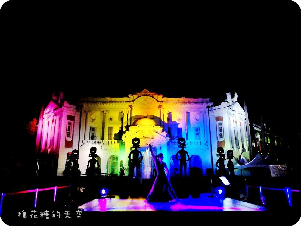 1444999411 1108945345 - 【熱血採訪】臺中光影藝術節第二波!臺中舊州廳華麗登場,壯觀光束舞動搭配優雅舞者律動,大家一起來循著光影軌跡、穿梭時空旋律~