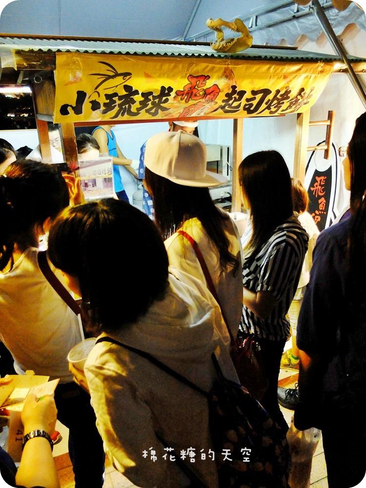 1445906612 3038451792 - 【熱血採訪】《台中美食》夜市美食小琉球飛魚卵烤餅爵士音樂節也吃得到~聽爵士吃海味,連心情都飄飄囉!