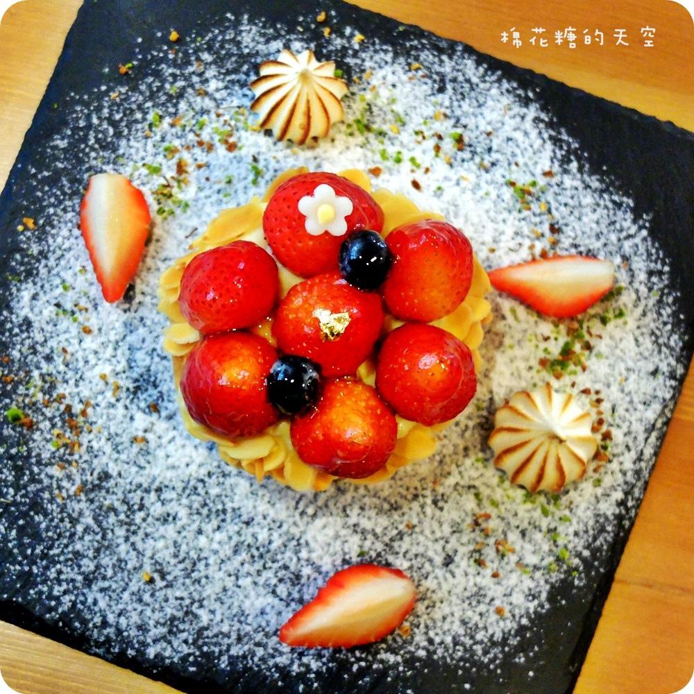 """1450761198 3043894958 - 《台中甜點》窩在巷子裡的甜點店""""窩巷""""季節限定草莓塔鮮紅欲滴~每日限量的喔!還"""