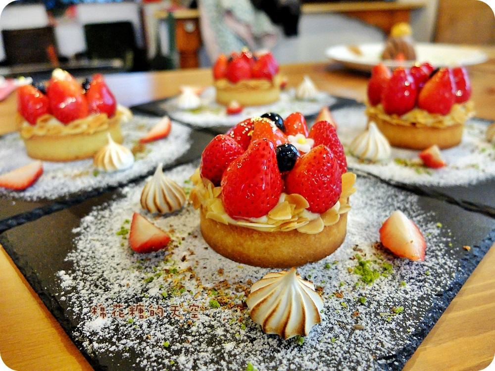 """1450761201 4192825812 - 《台中甜點》窩在巷子裡的甜點店""""窩巷""""季節限定草莓塔鮮紅欲滴~每日限量的喔!還"""