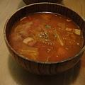 番茄蔬菜湯 味到很夠!