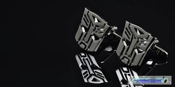 變形金剛Transformers鏤空造型袖扣