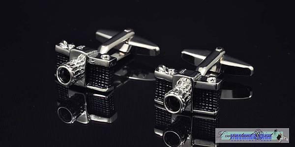 古典相機造型袖扣
