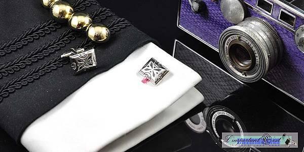 個性圖騰造型袖扣