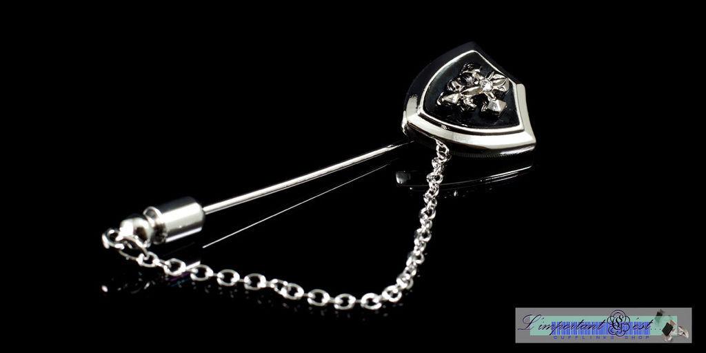 十字盾騎士風格領針