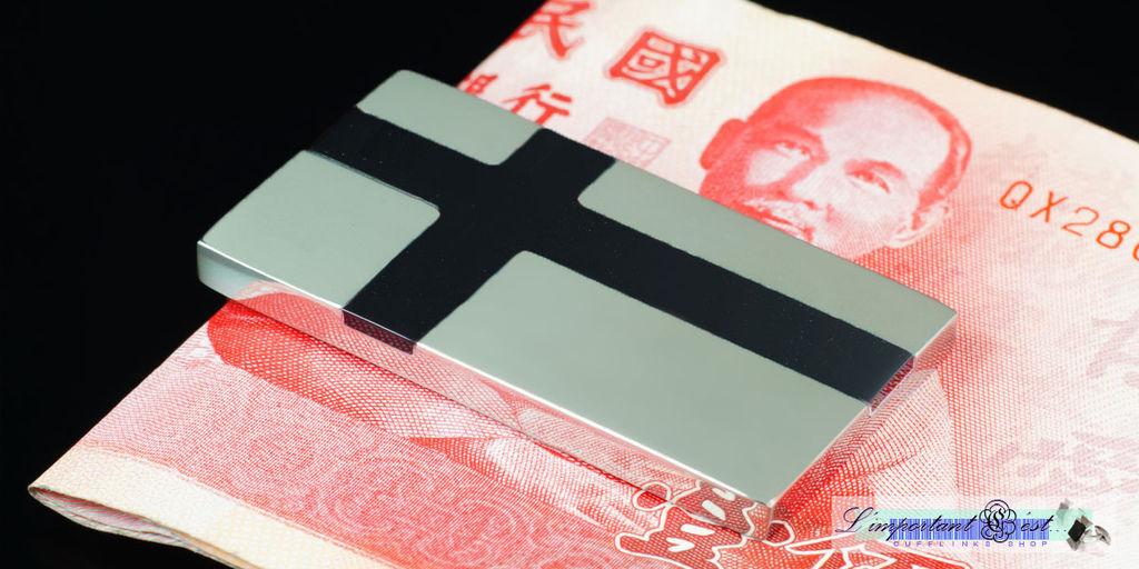 黑色十字鈔票夾