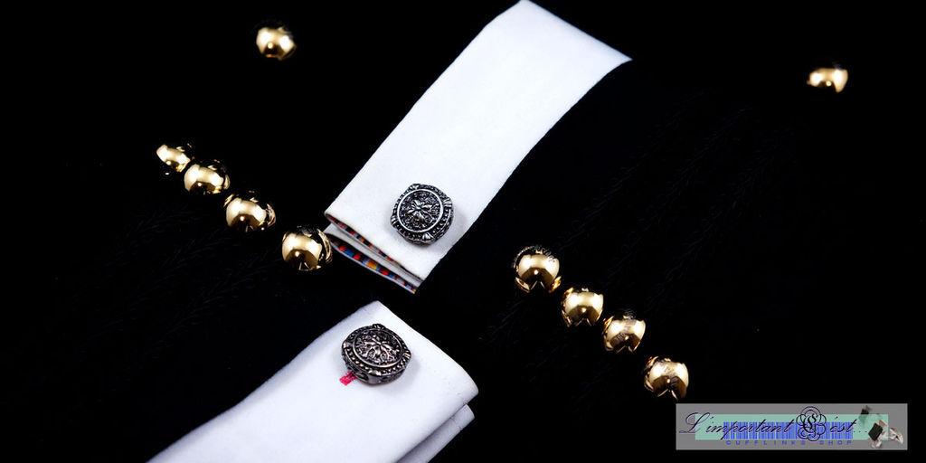 華典章紋袖扣