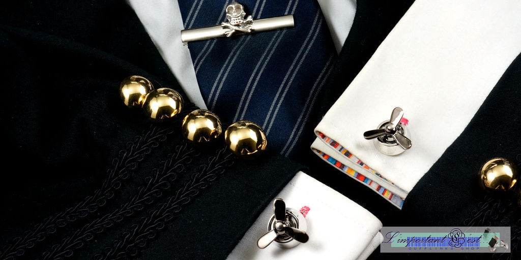 可動螺旋槳造型袖扣