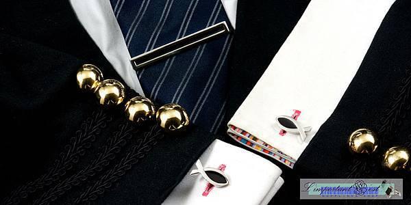 ΙΧΘΥΣ耶穌魚造型袖扣