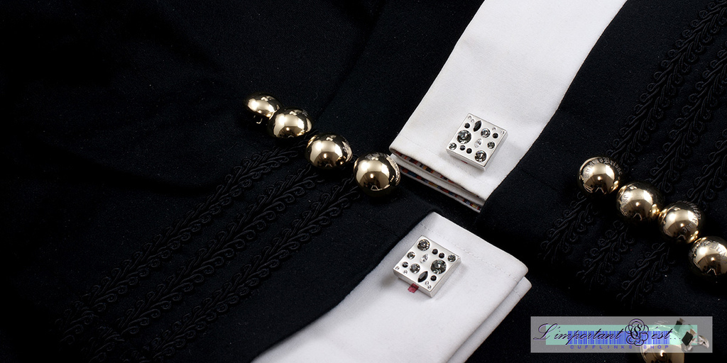 星雲彩鑽袖扣