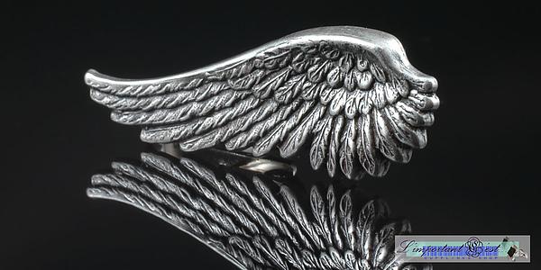 「天使之翼」領帶夾