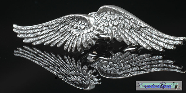 「天使之翼」袖扣