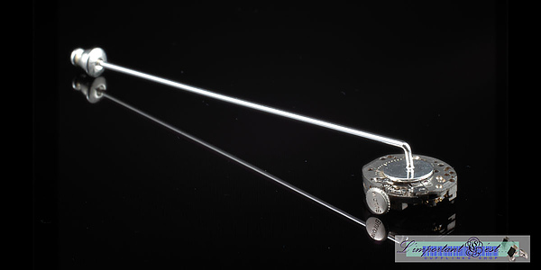 「波龐」古董BULOVA寶路華鐘錶機芯領針