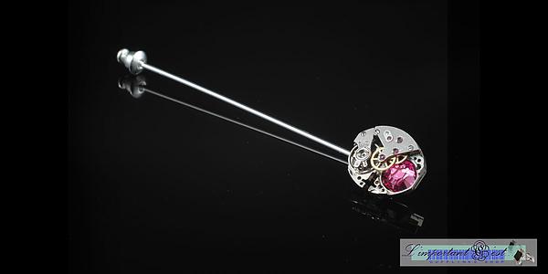 「芯眼」領針-Pink