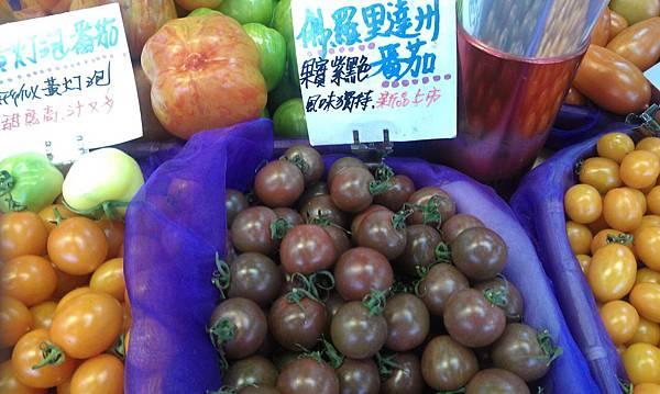 美國~佛羅里達州紫黑色番茄