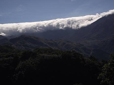 雲瀑-插天山脈