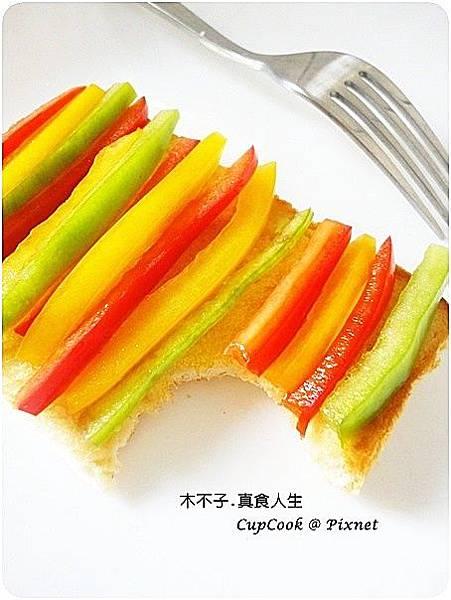 蜂蜜檸檬彩椒烤土絲