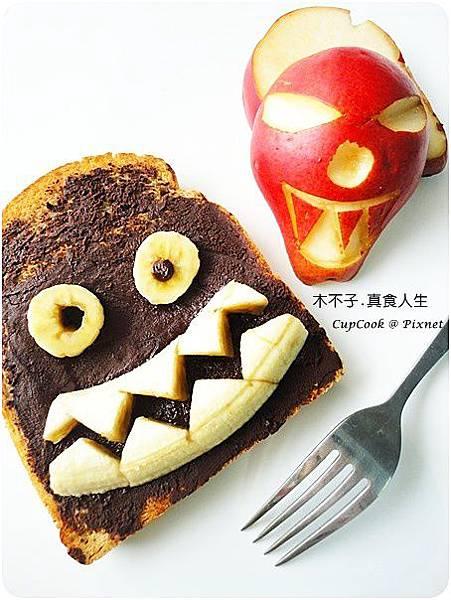 香蕉巧克力烤土司DSC00167.JPG