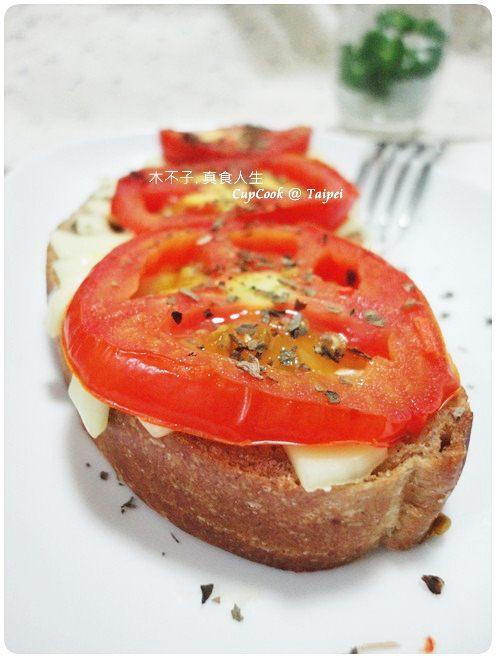 番茄起司烤吐司 (1)