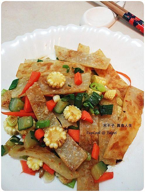 鮮蔬炒餅成品 (1)