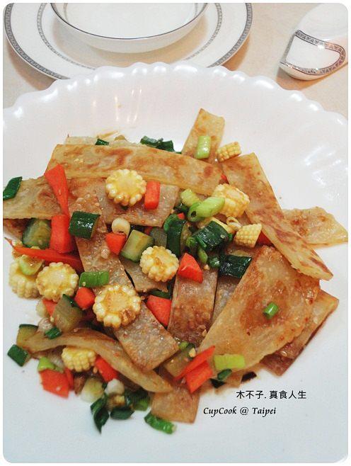 鮮蔬炒餅成品 (2)