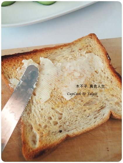奶油黃瓜烤吐司 (1)